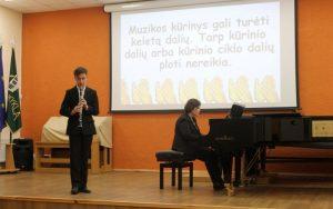 Koncertinė praktika – pamoka